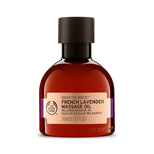 Care French Massage - The Body Shop French Lavender Massage Oil - 170ml
