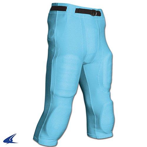 Light Game Pants Football - Goal Line Poly Spandex Football Game Pant L Light Blue Adult