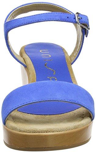 Unisa irita_18_KS, Sandalia con Pulsera Para Mujer Azul (Klein)
