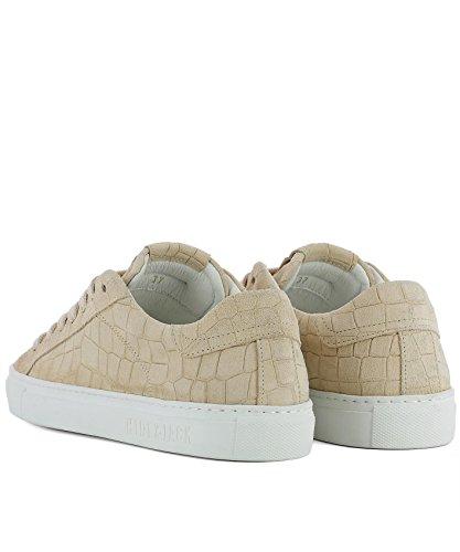 Verbergen & Jack Damen Crclcrwhtcreamwhite Beige Wildleder Sneakers