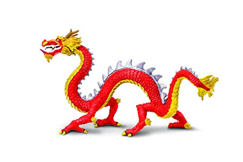 Safari Ltd Horned Chinese Dragon (Chinese Dragons)