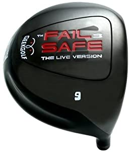 #1 Distance + Accuracy GEEK GOLF FAIL SAFE 3 (FS3) World Long Drive Golf Driver Component Head - Loft 6°, 7.5°, 9° or 10.5°