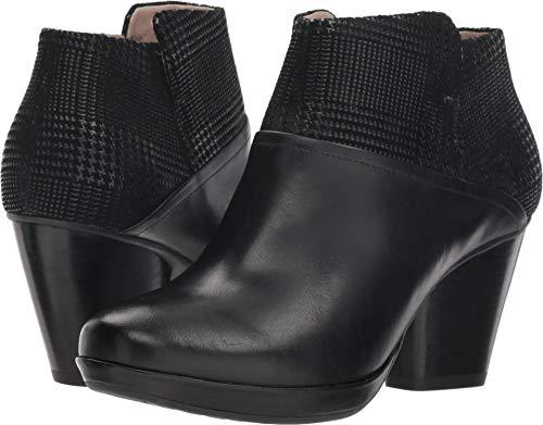 Dansko Women's Miley Ankle Boot, Black Burnished Calf, 41 M EU (10.5-11 US) ()