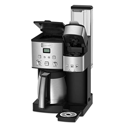 Cuisinart SS-20 Coffee Center 10-Cup Thermal Single-Serve Brewer coffeemaker Silver by Cuisinart (Image #1)