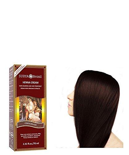 Surya Nature, Inc Henna Chocolate Cream Surya Nature, Inc 2.31 oz Cream (Easy Henna)