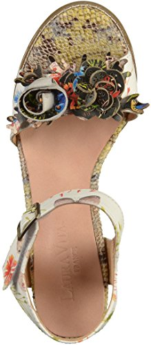Laura Vita Dames Dali 03 Strappy Sandals Wit
