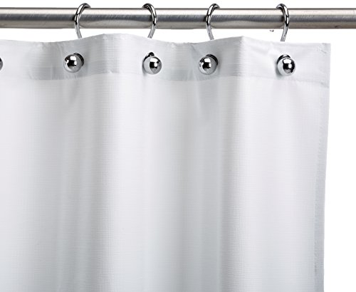 Csi Bathware Cur54x72nh Heavy Duty Commercial Shower Curtain Antistatic Staph Resistant Mold And