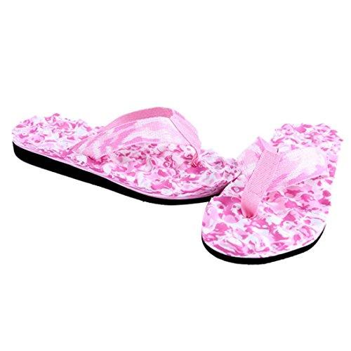 Zolimx Damen Sommer Flip Flops Frauen Schuhe Sandalen Slipper (36, Blau)