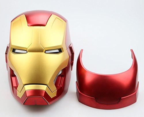 Gmasking Metal MK43 Manual Open/Close Props Wearable Cosplay Helmet 1:1 Exclusive Props