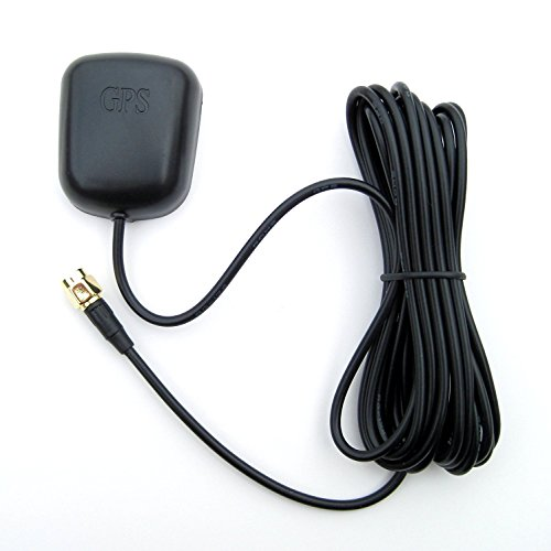 - Waterproof GPS Active Antenna 28dB Gain, 3-5VDC, SMA
