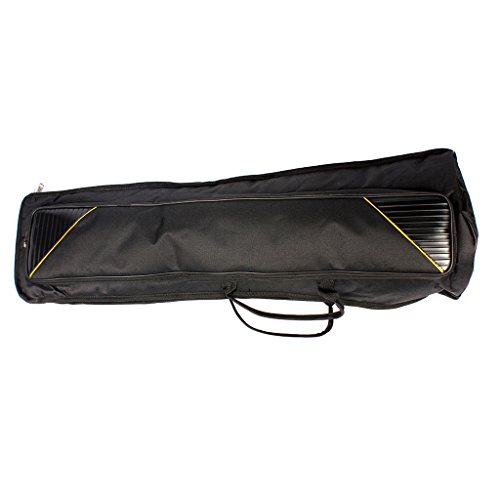 Dovewill Black Oxford Fabric Tenor Trombone Gig Bag Musical Instrument Protection Accessory by Dovewill (Image #7)'