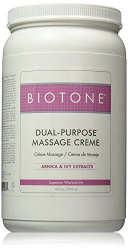 Biotone Dual-Purpose Massage Creme, 68 Ounce (Tissue Deep Biotone)