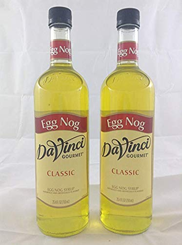 Da Vinci Eggnog Syrup 750mL