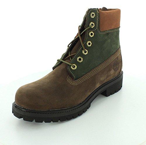 "Timberland Men's 6"" Premium Waterproof Boot Brown"