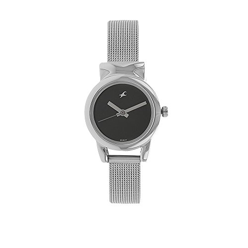 Fastrack Women's 6088SM01 Casual Silver Metal Strap Watch ()