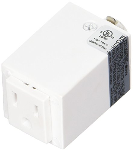 Elco Lighting EP814W EP814 Outlet Adapter-2 Pack