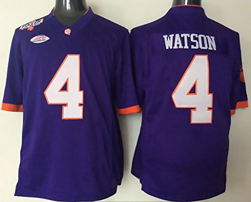 NCAA Football Jersey Youth 2015 Clemson Tigers 4 Purple Youth Football Jersey M