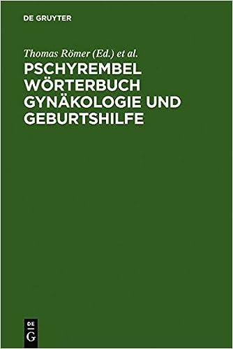 Book Pschyrembel Wörterbuch Gynäkologie und Geburtshilfe