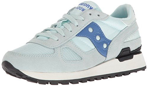 Ombra Di Saucony Originale Damen, Wildleder, Sneaker Low Light Blue / Blue