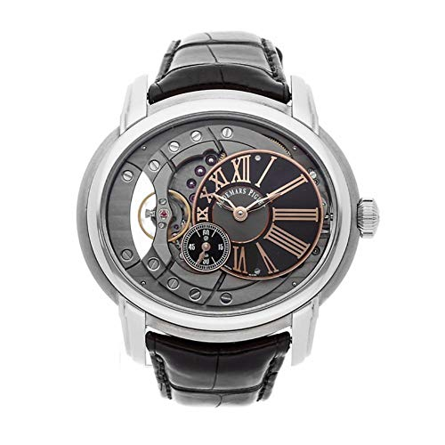Audemars Piguet Millenary Swiss-Automatic Male Watch 15350ST.OO.D002CR.01 (Certified Pre-Owned)
