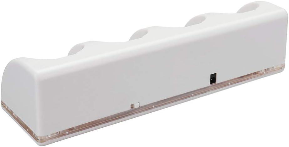 Festnight 4pcs 2800mAh cellules Rechargeables Dock de Charge Wii-Cell pour Wii Remote N-commutateur Accessoire