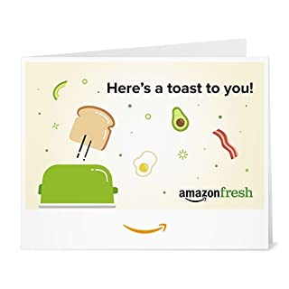 Amazon Gift Card - Print - Amazon Fresh Toast to You (B01LXNQ7QD) | Amazon price tracker / tracking, Amazon price history charts, Amazon price watches, Amazon price drop alerts