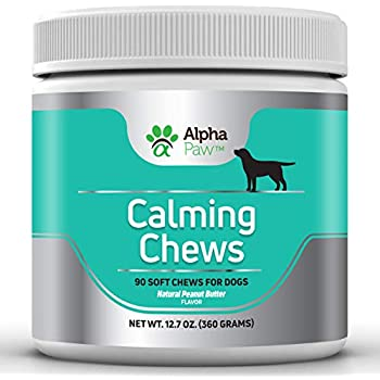 Amazon.com : Alpha Paw Calming Treats for Dogs - Natural