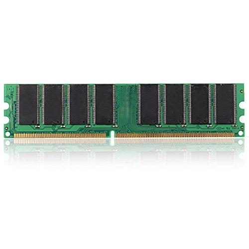 C&C Products 1GB DDR333 MHz PC2700 Non-ECC Desktop DIMM Memory 184 Pins