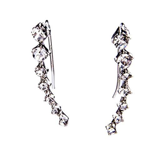 Jocund Women Simple Retro Metal Diamonds Dipper Seven Stars Earrings Ladies Jewelry