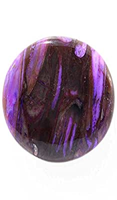 31.90Cts fabulous Rock Sugilite Oval Cabochon Top Quality Loose Gemstone Africa