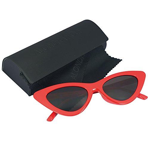 Alondra Kolt Cat Walks Cat Eye 90's sunglasses (RED RED / - Frames Cat Red Eye Glasses