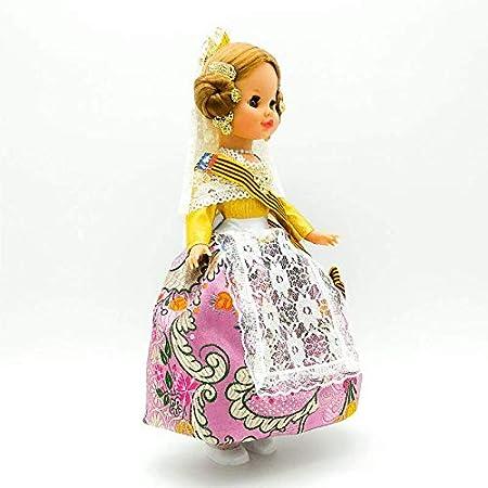 Amazon.es: Folk Artesanía Muñeca Sintra 42 cm Similar Nancy ...