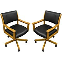 Two Signature Game Chairs (Oak)