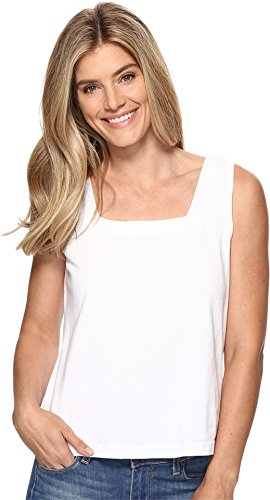 Fresh Produce Women's Boxy Tank Top White Tank Top