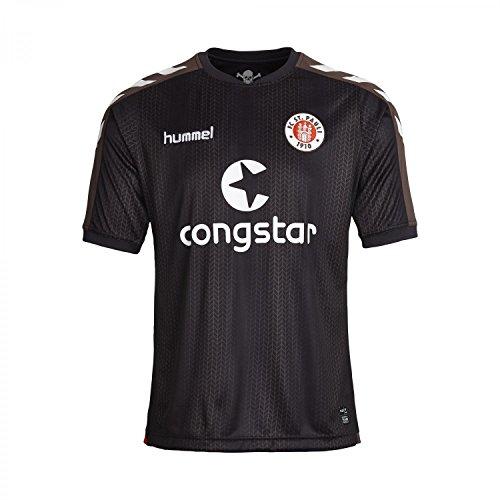 Hummel - Camiseta de fútbol para hombre 2015 st. Pauli ka Home Jersey, hombre, - dunkelbraun / weiß, XXXL: Amazon.es: Deportes y aire libre