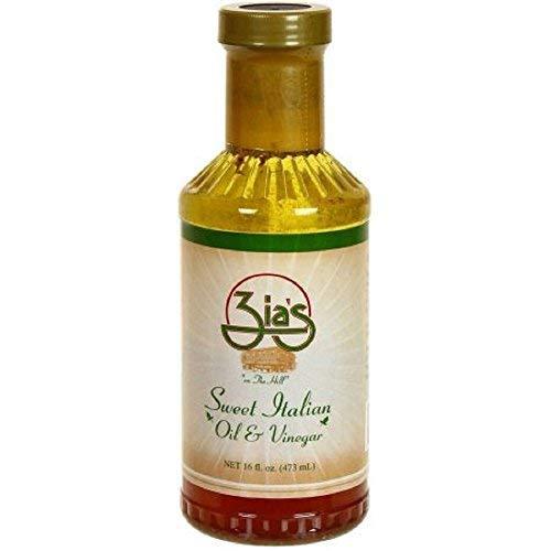 Zia's Sweet Italian Oil & Vinegar Salad Dressing, 16 Ounce Bottle - Oil And Vinegar Salad
