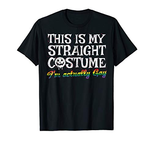 Lesbian Halloween Costume Ideas (This is my straight LGBT Halloween Costume Shirt Lesbian)