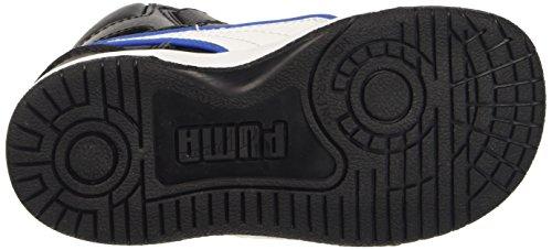 Puma Rebound Street L Inf Sneaker V, Color Negro/Blanco, 8