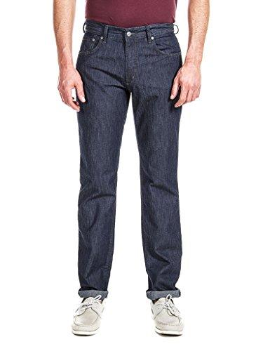 estilo Azul cintura Jeans ajuste estilo regular recto hombre 700 Carrera Jeans denim normal para n1TX4RqU