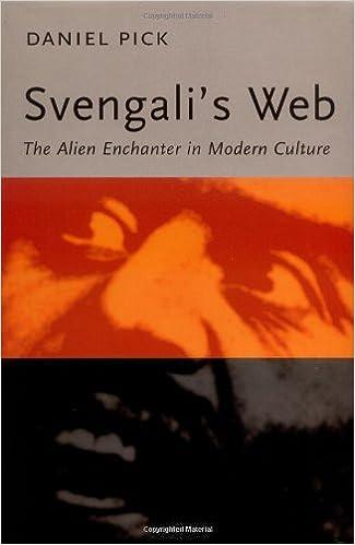 Svengali's Web: The Alien Enchanter in Modern Culture by Daniel Pick (2000-03-22)