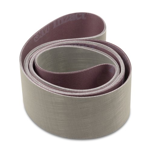 3M Trizact 1 X 30 Inch Sanding Belts, A30 (800), A16 (1200), A6 (2500) Grit, 12 Pack