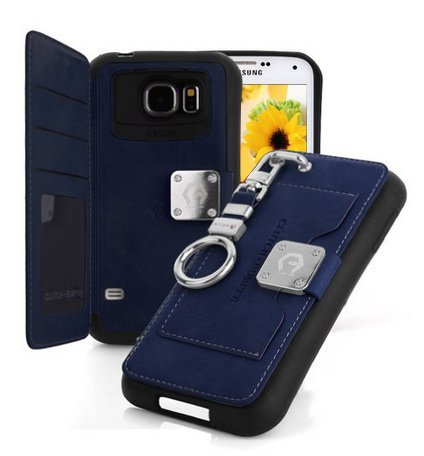 galaxy-s6-edge-casenavy-back-pocket-case-5-card-slot-finger-holder-clip-pu-leather-tpu-bumper-clutch