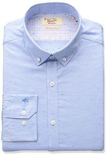 original-penguin-mens-slim-fit-stretch-space-dye-dress-shirt-blue-15-neck-34-35-sleeve
