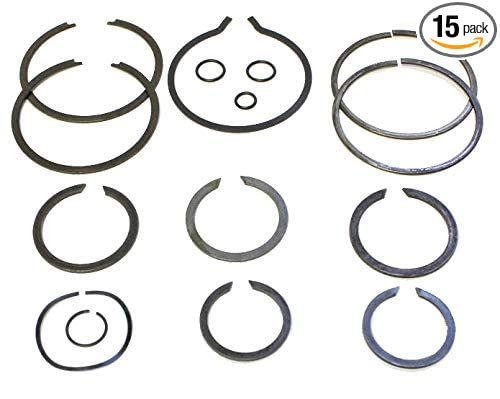 Vital Parts SP261-50 Small Parts Kit Snap Rings Fits GM Chevy NP 261 263 HD XHD Transfer Case Kit 1999-Up