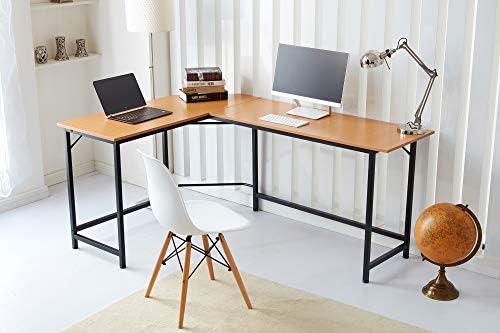 RayGar - Escritorio para ordenador de oficina en forma de L ...