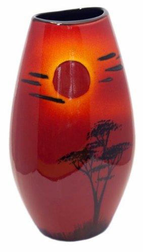 Amazon Poole Pottery African Sky Manhattan Vase 26cm Home