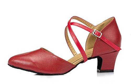 TDA cuña Red 4 con Sandalias mujer Heel 5cm EqFErZ