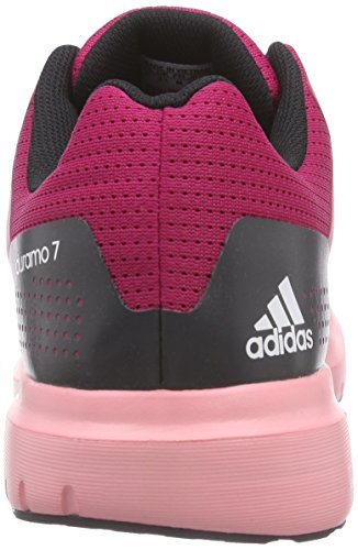 Adidas Duramo 7 W - Zapatillas de running para mujer, Rosa (Bold Pink/Ftwr White/Super Pop F15),  44 2/3