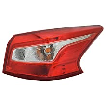 TYC 11-6905-00-1 Nissan Sentra Replacement Right Tail Lamp