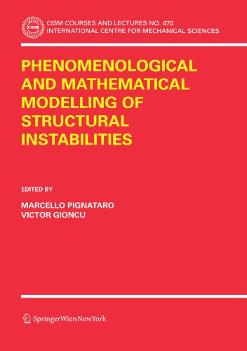 Phenomenological and Mathematical Modelling of Structural Instabilities (CISM International Centre for Mechanical Sciences)